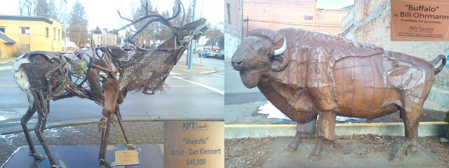 Street Art, Coeur d'Alene, Idaho