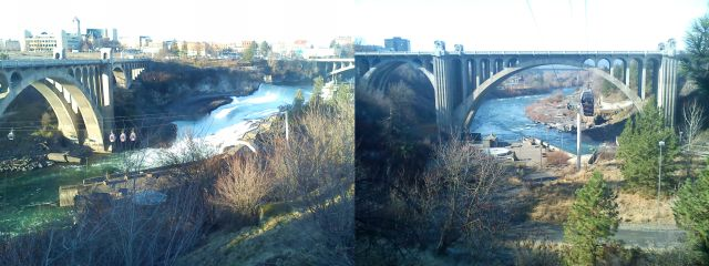 The Monroe Street Bridge, Spokane, WA