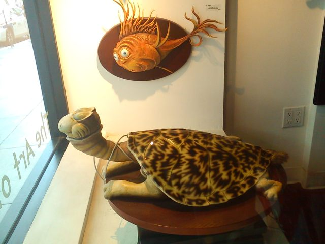 The Turtle-Necked Sea Turtle and the Flaming Herring