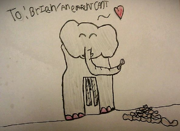 AnElephant is happy by Emma