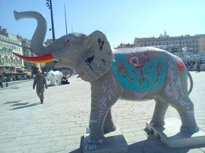 UnElephant a Marseille