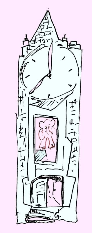 AnElephant in Time by Phil Burns