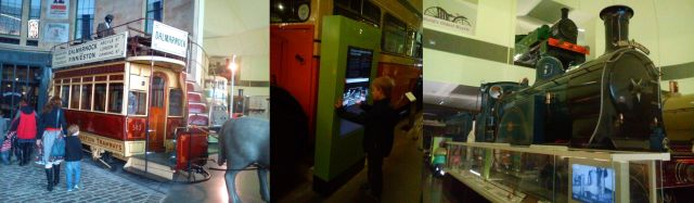 Exhibits at The Riverside Museum, Glasgow