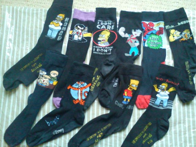 AnElephant's sock collection