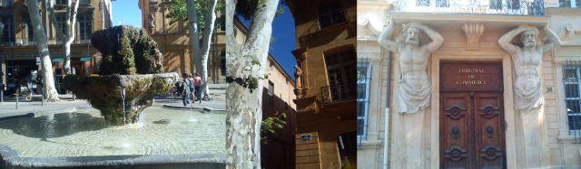 Glimpses of Aix-en-Provence