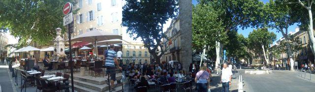 Street scenes in Aix-en-Provence
