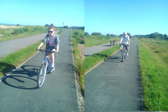 The  Prettiest Girl in England and AnElephant on Bicycles
