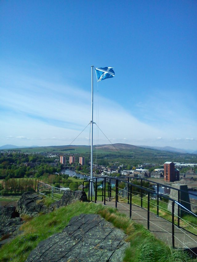 The Saltire or Saint Andrew's Cross