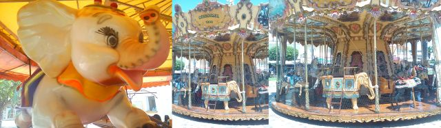 Carousel in Medville, Provence