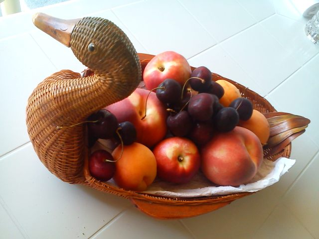The fruits of the Mediterranean