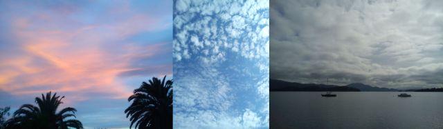 Sky over Provence, La Med, Loch Lomond