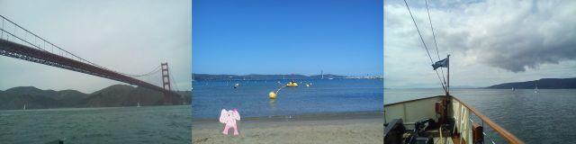 San Francisco, Mediterranean Sea, PS Waverley on River Clyde