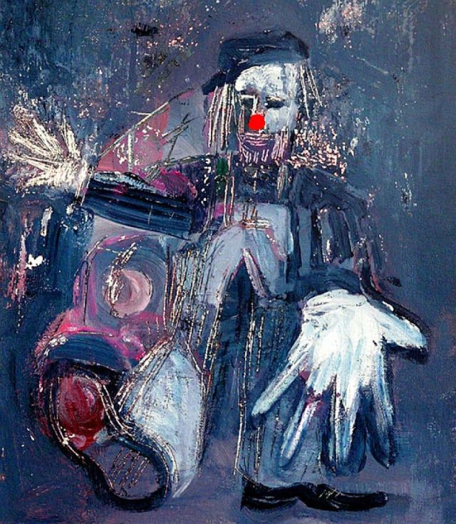 Clown by Phil Burns