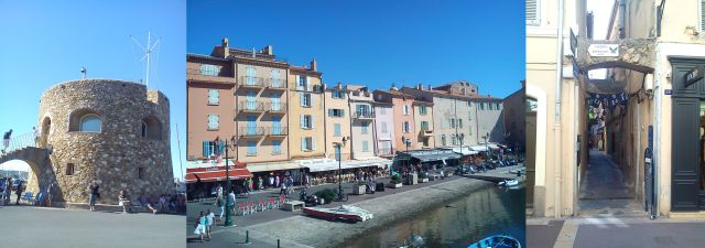 St Tropez - a Fort, the Quayside, House of Butterflies