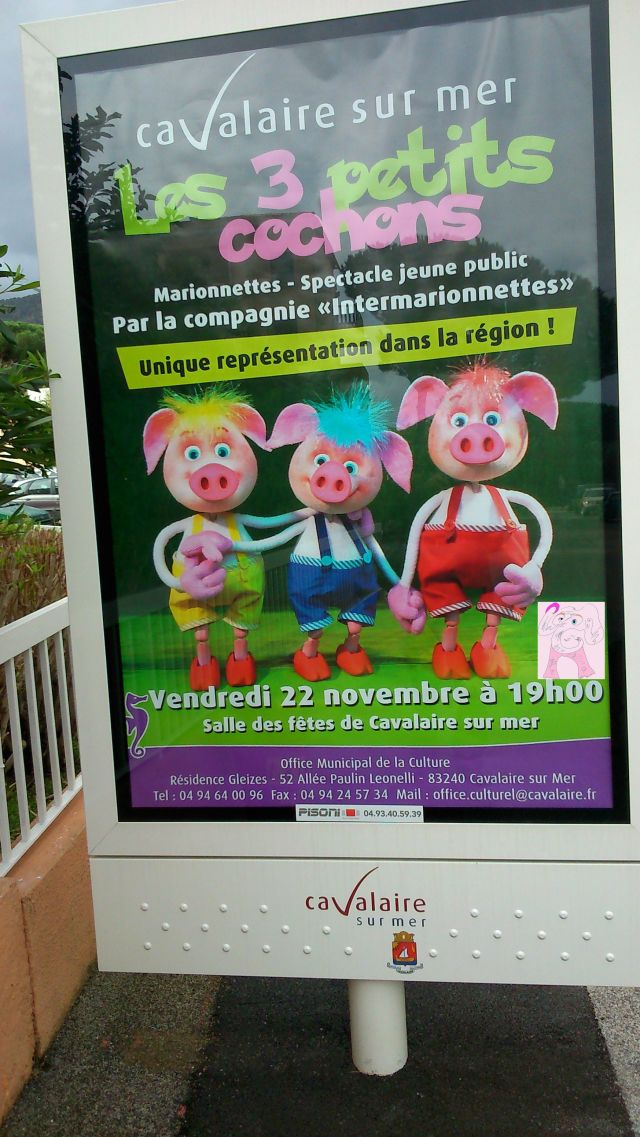 The 3 Little Pigs in Foreign, okay?
