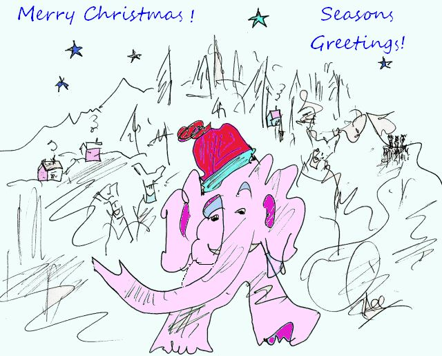 Merry Christmas by Phil Burns