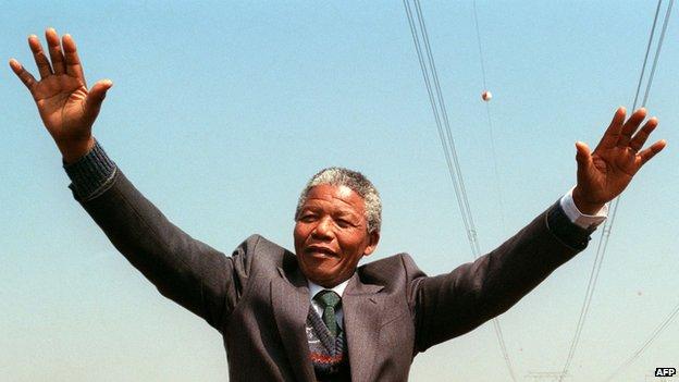 Nelson Mandela  July 18, 1918 - December 5 2013