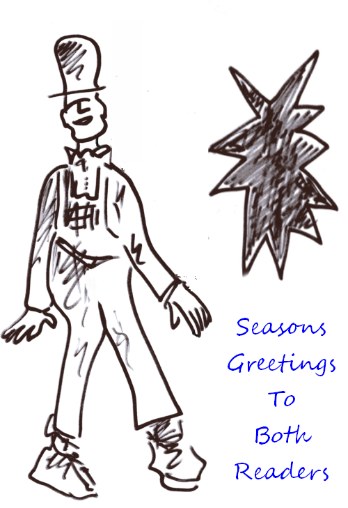 Seasons Greetings by Phil Burns