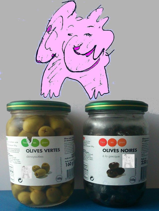 Olives by Phil Burns