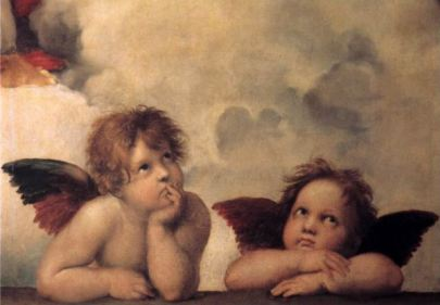 Cherubs by Michelangelo